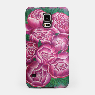 Thumbnail image of Peony_acrylic Samsung Case, Live Heroes