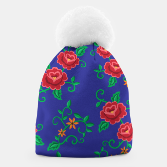 Miniature de image de Folk embroidery with flowers - traditional pattern Czapka, Live Heroes
