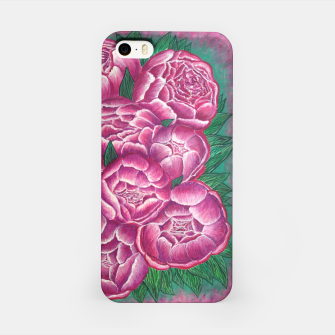 Thumbnail image of Peony_acrylic iPhone Case, Live Heroes