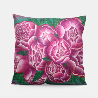 Thumbnail image of Peony_acrylic Pillow, Live Heroes