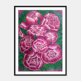 Thumbnail image of Peony_acrylic Framed poster, Live Heroes