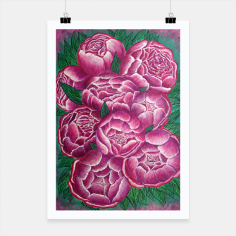 Thumbnail image of Peony_acrylic Poster, Live Heroes