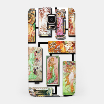 Thumbnail image of Alphonse Mucha Collage 01 Samsung Case, Live Heroes