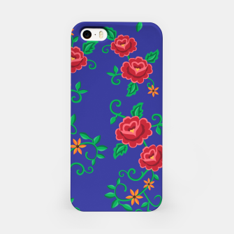 Miniature de image de Folk embroidery with flowers - traditional pattern Obudowa iPhone, Live Heroes
