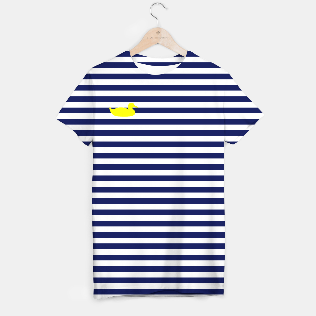 Image of Blue and yellow duck T-shirt - Live Heroes
