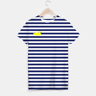Thumbnail image of Blue and yellow duck T-shirt, Live Heroes