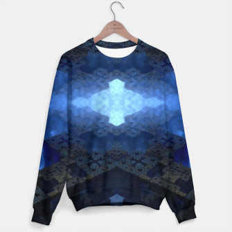 Thumbnail image of Dimensional Channel Cotton sweater, Live Heroes