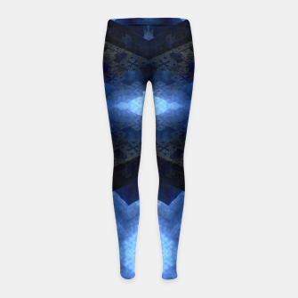 Thumbnail image of Dimensional Channel Girl's leggings, Live Heroes