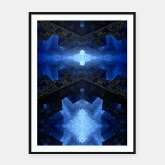 Thumbnail image of Dimensional Channel Framed poster, Live Heroes