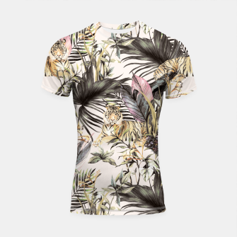 Thumbnail image of Tiger of the jungle 04 Shortsleeve rashguard, Live Heroes