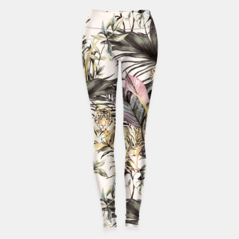 Thumbnail image of Tiger of the jungle 04 Leggings, Live Heroes