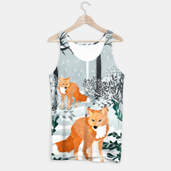 Thumbnail image of Fox Snow Walk Tank Top, Live Heroes