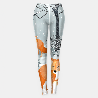 Thumbnail image of Fox Snow Walk Leggings, Live Heroes