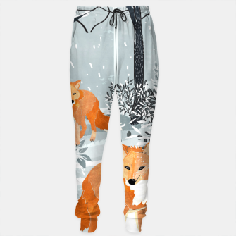 Thumbnail image of Fox Snow Walk Cotton sweatpants, Live Heroes