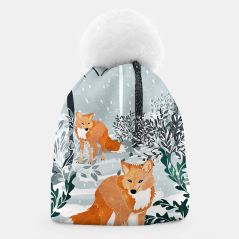 Thumbnail image of Fox Snow Walk Beanie, Live Heroes