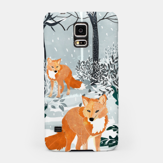 Thumbnail image of Fox Snow Walk Samsung Case, Live Heroes