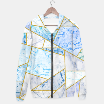 Thumbnail image of Geometria Cotton zip up hoodie, Live Heroes