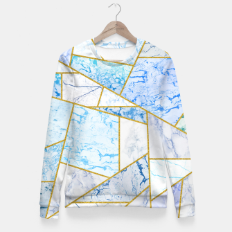 Thumbnail image of Geometria Woman cotton sweater, Live Heroes