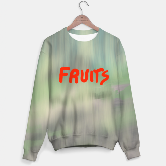 Thumbnail image of Fruits Cotton sweater, Live Heroes
