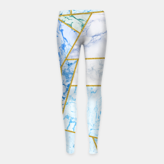 Thumbnail image of Geometria Girl's leggings, Live Heroes
