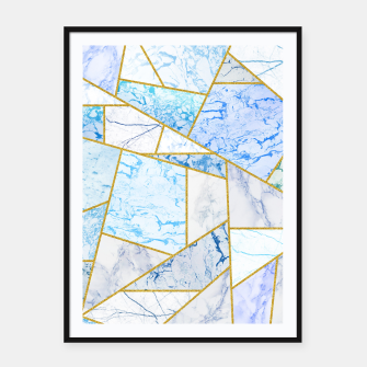 Thumbnail image of Geometria Framed poster, Live Heroes