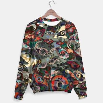 Thumbnail image of Collage LXXIII Cotton sweater, Live Heroes