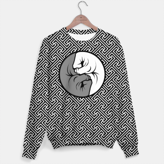 Thumbnail image of Way of the Fist Cotton sweater, Live Heroes
