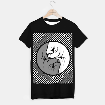 Thumbnail image of Way of the Fist T-shirt regular, Live Heroes