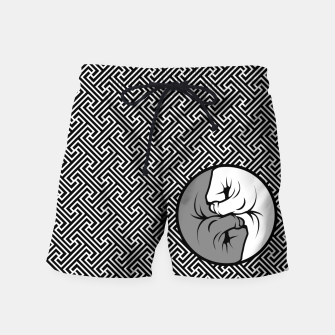 Thumbnail image of Way of the Fist Swim Shorts, Live Heroes