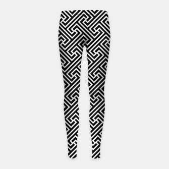 Thumbnail image of Way of the Fist Girl's leggings, Live Heroes