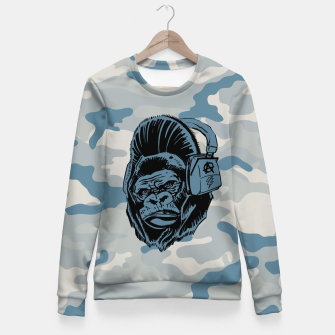 Thumbnail image of Collage LXXIV Woman cotton sweater, Live Heroes