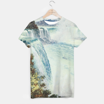 Thumbnail image of Tidmarsh, H.E. (1855-1939) - Cassell's Popular Science 1900 - Niagara Falls T-shirt, Live Heroes