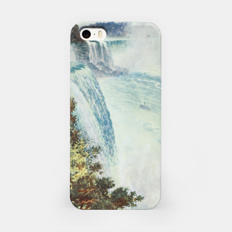 Thumbnail image of Tidmarsh, H.E. (1855-1939) - Cassell's Popular Science 1900 - Niagara Falls iPhone Case, Live Heroes