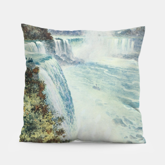 Thumbnail image of Tidmarsh, H.E. (1855-1939) - Cassell's Popular Science 1900 - Niagara Falls Pillow, Live Heroes