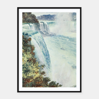 Thumbnail image of Tidmarsh, H.E. (1855-1939) - Cassell's Popular Science 1900 - Niagara Falls Framed poster, Live Heroes