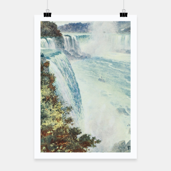 Thumbnail image of Tidmarsh, H.E. (1855-1939) - Cassell's Popular Science 1900 - Niagara Falls Poster, Live Heroes