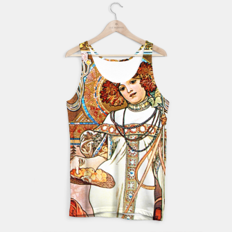 Thumbnail image of Alphonse-Mucha - L'Automne Vintage Art Tank Top, Live Heroes