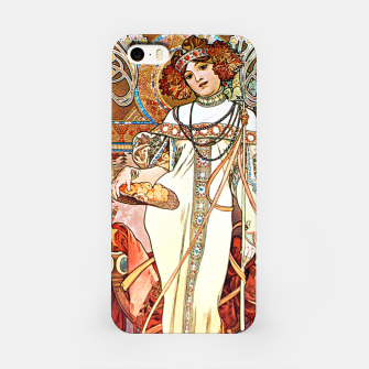 Thumbnail image of Alphonse-Mucha - L'Automne Vintage Art iPhone Case, Live Heroes