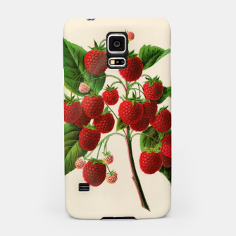 Thumbnail image of  Canadian Horticulturalist 1888-96 - Raspberries Samsung Case, Live Heroes