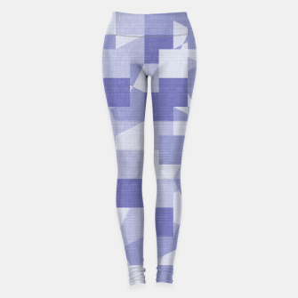 Thumbnail image of Purple pattern Leggings, Live Heroes