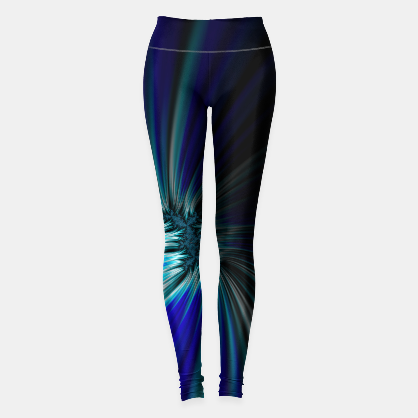 Image of Blue Space  Leggings - Live Heroes