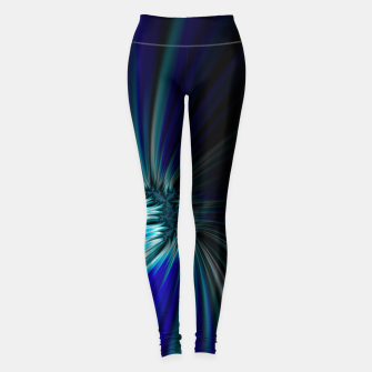 Thumbnail image of Blue Space  Leggings, Live Heroes