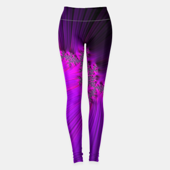Thumbnail image of Purple Space  Leggings, Live Heroes
