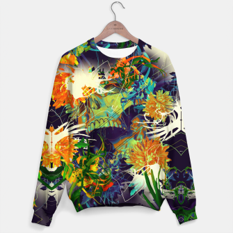 Thumbnail image of Skull Flora Cotton sweater, Live Heroes