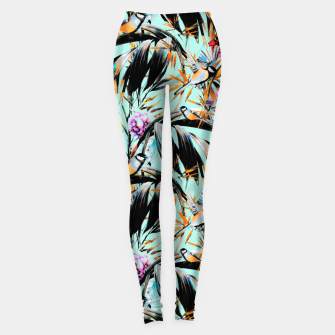 Thumbnail image of Birds on leaf 2 Leggings, Live Heroes