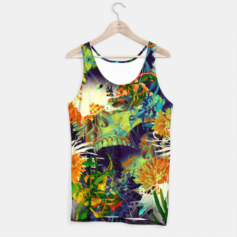 Thumbnail image of Skull Flora Tank Top, Live Heroes