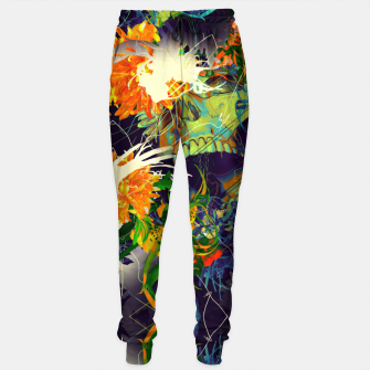 Thumbnail image of Skull Flora Cotton sweatpants, Live Heroes