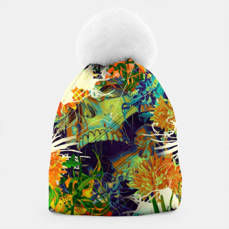 Thumbnail image of Skull Flora Beanie, Live Heroes