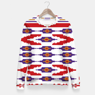 Thumbnail image of The Fruit of the Man Woman cotton sweater, Live Heroes