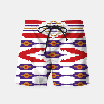 Thumbnail image of The Fruit of the Man Swim Shorts, Live Heroes